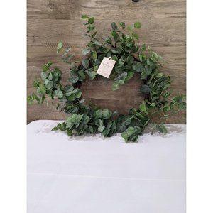 Hearth and hand eucalyptus wreath